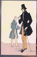 Histoire Du Costume Français - Restauration 1838 - Illustrateur Rouillier - Rouillier