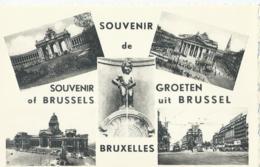 Brussel - Bruxelles - Souvenir De ... - Groeten Uit ... - Ern. Thill Serie 1 No 54 - Multi-vues, Vues Panoramiques
