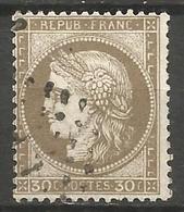 France - Cérès - N°56 Oblitéré - Cachet Ambulat L P - Lille-Paris - 1871-1875 Ceres