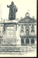 Nancy  Statue Du Roi Stanislas - Nancy
