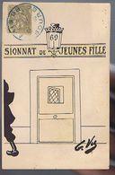 Pensionnat De Jeunes Filles - Lanterne 69 - Illustrateur G. VU - Illustrators & Photographers