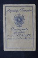 FRANCE- Passeport Français De 1953, Avec Timbre Fiscal à L 'intérieur - L 59254 - Colecciones