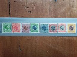 ANTILLE DANESI 1915/17 - Cristiano X - Nn. 44/51 Nuovi ** + Spese Postali - Danimarca (Antille)
