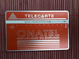 Landis & Gyr Burundi 120 Units 001 B Used  See Quality Scan Not Perfect Rare - Burundi