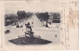 MEXIQUE 1911    CARTE POSTALE DE MEXICO PASEO DE LA REFORMA - Mexico