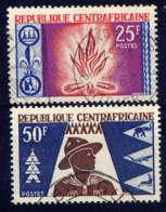 CENTRAFRICAINE  - 58/59° - SCOUTISME - Repubblica Centroafricana