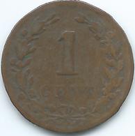 Netherlands - Willem III - 1878 -1 Cent - KM107 - 1849-1890 : Willem III