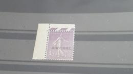 LOT500123 TIMBRE DE ANDORRE NEUF** N°14 - Neufs