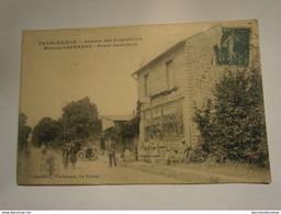 Franceville Avenue Des Coquelicots,seine St Denis 93,voyagée 1915,TBE - France