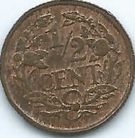 Netherlands - Wilhelmina - 1914 - ½Cent - KM138 - 0.5 Cent