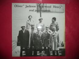 LP 33 N°3758 - OLIVIER JACKSON & HAYWOOD HENRY - REAL JAZZ EXPRESS - Jazz