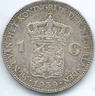 Netherlands - Wilhelmina - 1939 - 1 Gulden - KM161.1 - 1 Gulden