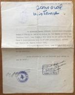 France - WW2 - Attestation De Service Dans La Resistance - (B1668) - Historical Documents