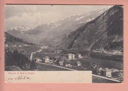 OUDE POSTKAART ZWITSERLAND - SWITZERLAND - SVIZZERA -    RODI E FIESSO  1905 - TI Tessin