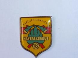 Pin's SAPEURS POMPIERS D HAVERSKERQUE - Feuerwehr