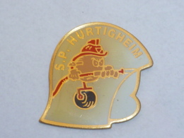Pin's SAPEURS POMPIERS D HURTIGHEIM - Firemen