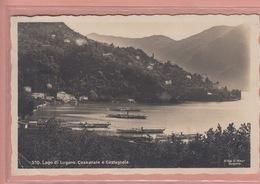 OLD POSTCARD - SWITZERLAND - SVIZZERA - CASSARATE - SHIPS LAGO LUGANO - TI Tessin