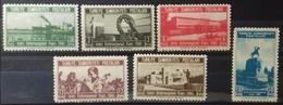 TURQUIE TURKEY N° 957 à 962 COTE 3,90 € 1941 NEUFS ** MNH 10ème FOIRE INTERNATIONALE D'IZMIR - 1921-... République