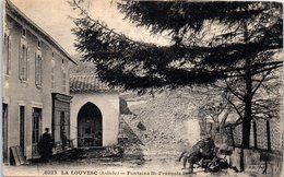 07 LA LOUVESC - Fontaine Saint François Régis   * - La Louvesc