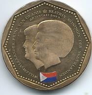 Netherlands Antilles - Beatrix / Willem Alexander - 2013 - 5 Gulden - St. Maarten Flag - KM86 - Antillen (Niederländische)