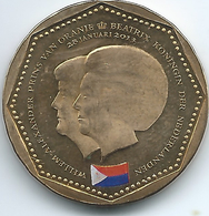 Netherlands Antilles - Beatrix / Willem Alexander - 2013 - 5 Gulden - St. Maarten Flag - KM86 - Antille Olandesi