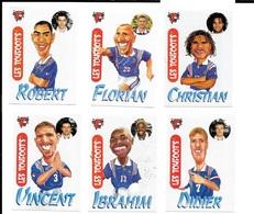 CD45- IMAGES VACHE QUI RIT - LES TOUFOOTS - IBRAHIM BA - KARAMBEU - VINCENT CANDELA - PIRES - DESCHAMPS FLORIAN MAURICE - Football