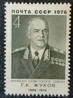 RUSSIA  MNH (**)1976 The 80th Birth Anniversary Of G.K.Zhukov - Unused Stamps