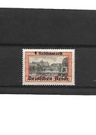 336-POLOGNE III REICH- Timbres De La Ville Libre De Dantzig 1939 Surchargés 1 Reichmark  Neuf * Trace De Charnière - Governo Generale