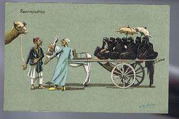 Récrimination - échanges Chameau / Femmes Voilées Harem - Illust.  Norton - Egypte - Editeur Cairo Postcard Trust, Cairo - Illustrateurs & Photographes
