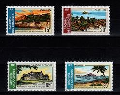 Comores - YV PA 32 à 35 N** Sites Cote 14 Euros - Comores (1950-1975)