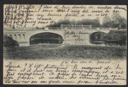 GENT * GAND * NOUVEAU PONT D AKKERGEM * EKKERGEM BRUG * 1904 * 2 SCANS - Gent