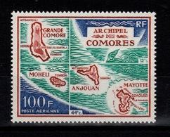 Comores - YV PA 36 N** Carte De L'archipel Cote 9 Euros - Comores (1950-1975)