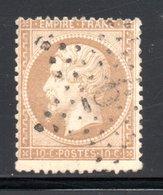 ETOILE DE PARIS 6 SUR YT 21 - 1849-1876: Période Classique