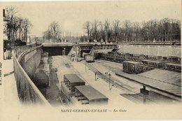78 SAINT GERMAIN EN LAYE La Gare (Cartes D'Autrefois) - St. Germain En Laye