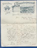 Facture   Vins De Tables  PH MARQUET   Grau-du-Roi   23 Mars 1905 - Alimentaire