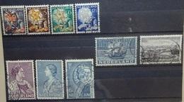 NEDERLAND  1933   Nr. 261 - 264 / 265 - 266 / 267 - 268 + 269         Gestempeld   CW 41,00 - Usati