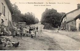 CPA - 51 - LA HARAZEE - Environs De SAINTE-MENEHOULD - Route De Varennes - Avant La Guerre - Sainte-Menehould