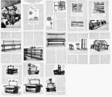 L'INDUSTRIE De La SOIE   1923 - Ciencia & Tecnología