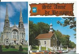 SAINTE-ANNE-DE-SAINTE- BEAUPRÉ  ( CANADA )   QUEBEC...MULTI-VUES - Ste. Anne De Beaupré