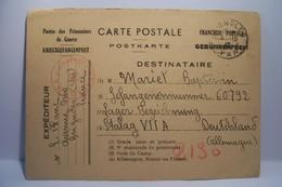 MILITARIA :  POSTES  Des PRISONNIERS De GUERRE - FRANCHISE POSTALE -  STALAG - Année 1940 - War 1939-45