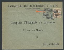 Brief Verstuurd Van Roeselare Naar Brussel 15.1.17 - Guerre 14-18