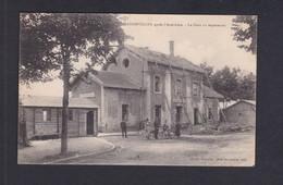 Badonviller (54) Après L' Armistice - La Gare En Reparation ( Animée Ed. Mlle Jacquemin Ref 41397) - Autres Communes