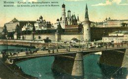 RUSSIA - Moscou - Moscow - Le Kremlin Pris Du Pont De La Moscou - Russie