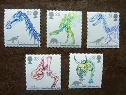 1991  150th Anniversary Of Dinosaur's Identification By Owen    SG = 1573 / 1577  **  MNH - 1952-.... (Elizabeth II)