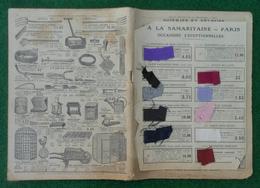 Catalogue Soieries Et Velours De La Maison À La Samaritaine Sise Rue De Rivoli à Paris - Kleding & Textiel