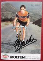 Eddy Merckx - Dédicacé à La Main - Molteni - Sportler