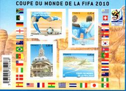 France.bloc Feuillet F4481 De 2010.coupe Du Monde Fifa.n**. - Blocs & Feuillets