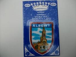 Blason Adhésif  ALBERT (80 ) Somme - Albert