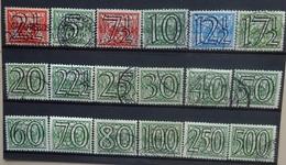 NEDERLAND  1940   Nr. 356 - 373        Gestempeld   CW  173,00 - Used Stamps