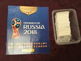 PANINI FOOT. FIFA WORLD CUP RUSSIA 2018. ALBUM + 637  STICKERS SANS DOUBLES - Edición Francesa